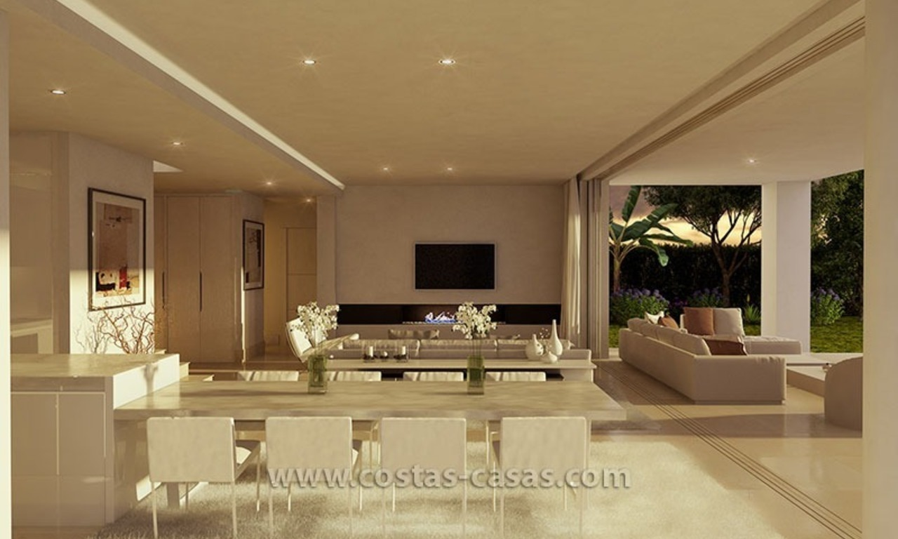 Stylish Modern Designer Villa for Sale, Newly Build, in East Marbella 4