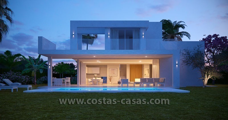 New Contemporary Villa for Sale with Huge Terraces in East Marbella