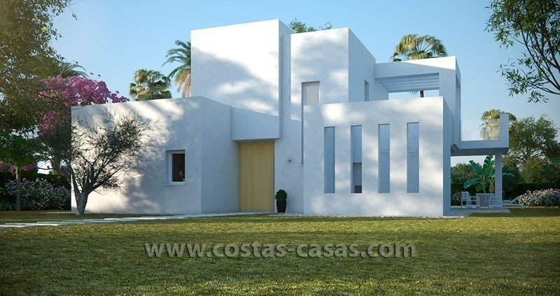 New Contemporary Villa for Sale with Huge Terraces in East Marbella 2