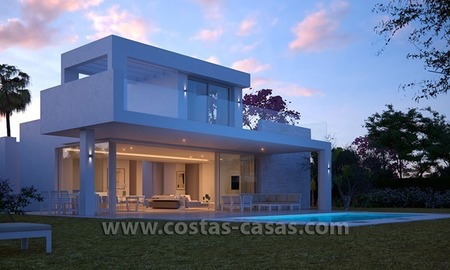 New Contemporary Villa for Sale with Huge Terraces in East Marbella 1