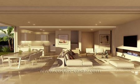 New Contemporary Villa for Sale with Huge Terraces in East Marbella 3
