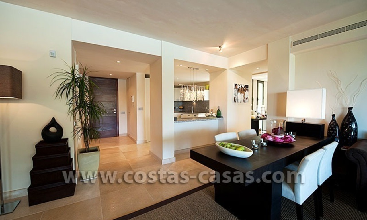For Sale: Contemporary Luxury First-line Golf Apartment in the Marbella – Benahavís – Estepona Triangle 7