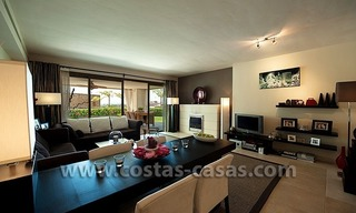 For Sale: Contemporary Luxury First-line Golf Apartment in the Marbella – Benahavís – Estepona Triangle 9