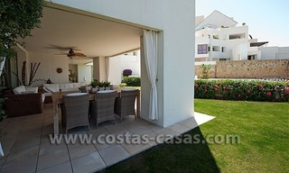 For Sale: Contemporary Luxury First-line Golf Apartment in the Marbella – Benahavís – Estepona Triangle 4