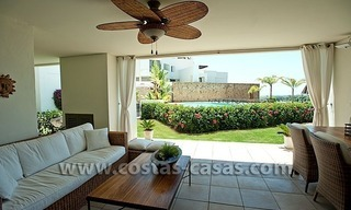 For Sale: Contemporary Luxury First-line Golf Apartment in the Marbella – Benahavís – Estepona Triangle 6