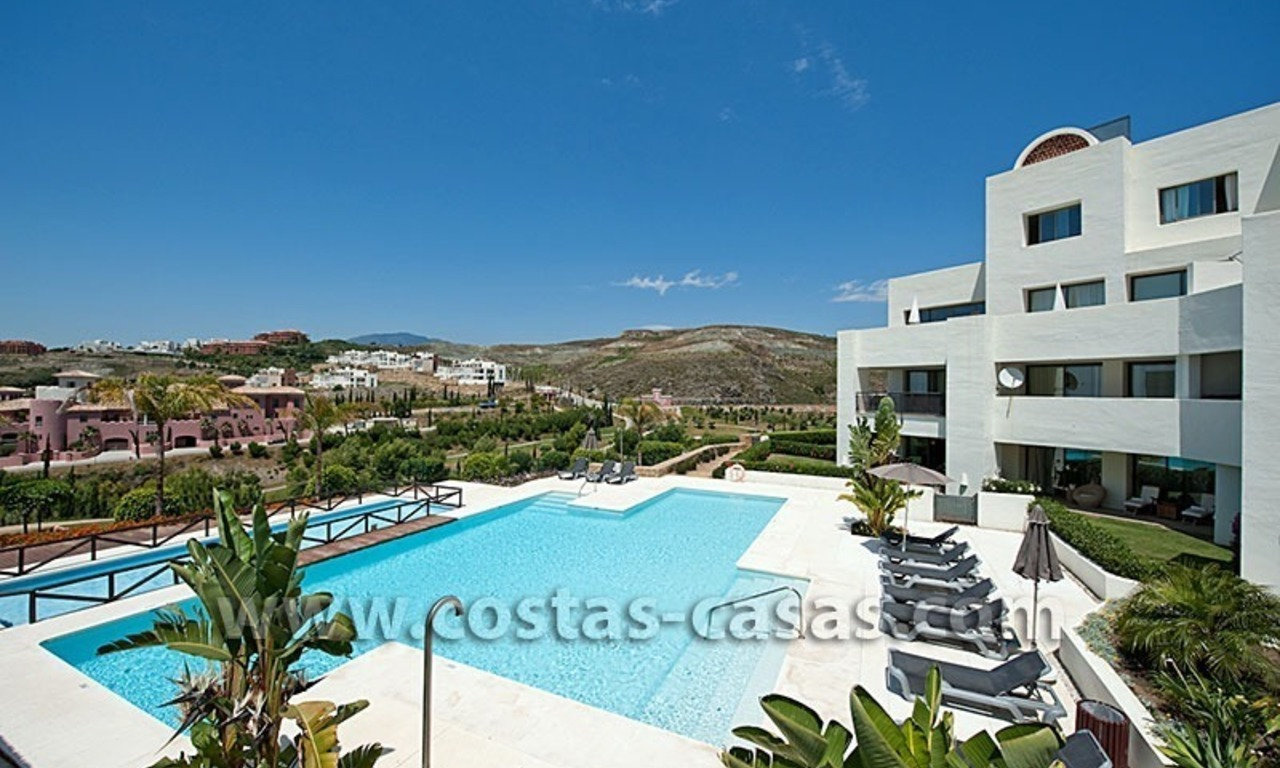 For Sale: Contemporary Luxury First-line Golf Apartment in the Marbella – Benahavís – Estepona Triangle 2