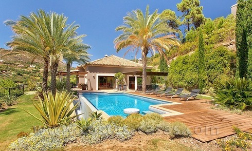 For Sale: Gorgeous Villa at Golf Resort in Marbella - Benahavis
