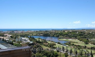For Holiday Rent: Brand New Modern Luxury Apartment with Fabulous Sea Views, Golf Resort, between Marbella and Estepona 0