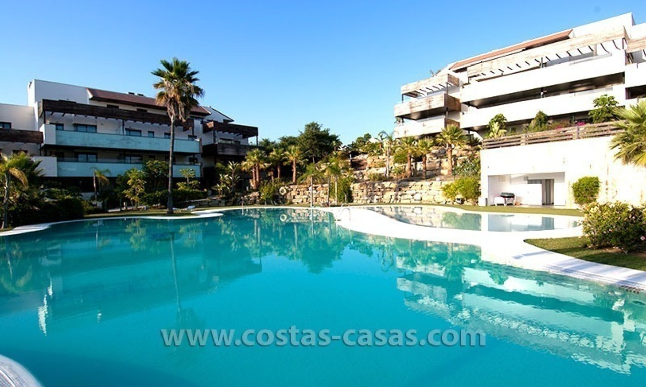 For Holiday Rent: Brand New Modern Luxury Apartment with Fabulous Sea Views, Golf Resort, between Marbella and Estepona 25
