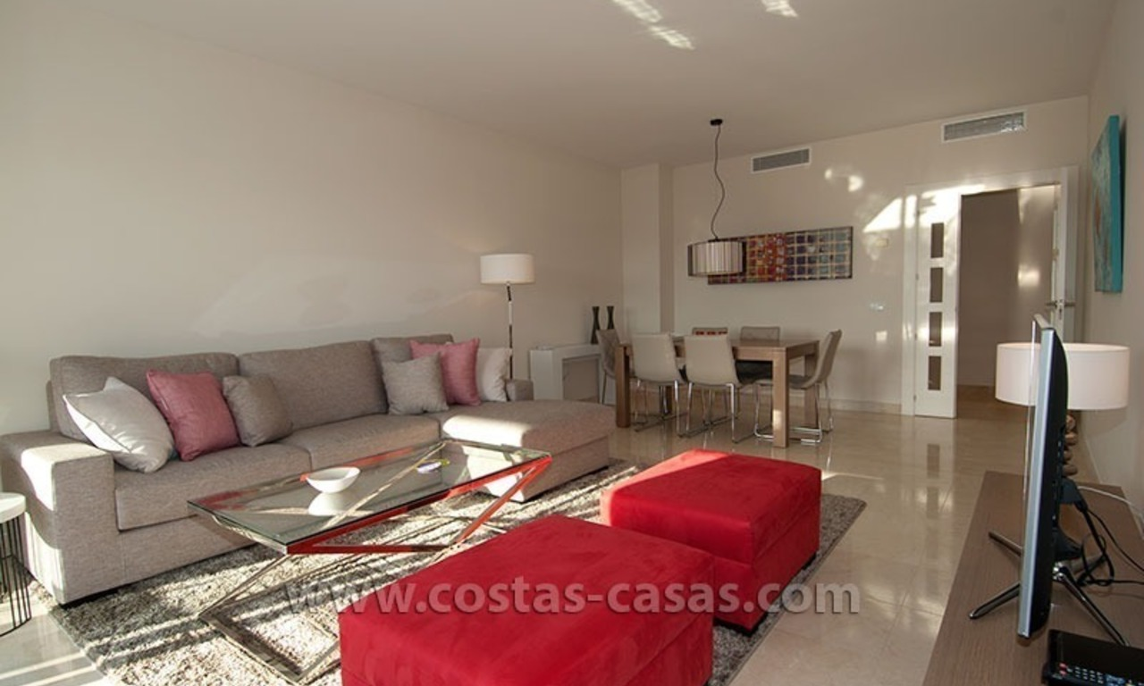 For Holiday Rent: Brand New Modern Luxury Apartment with Fabulous Sea Views, Golf Resort, between Marbella and Estepona 10
