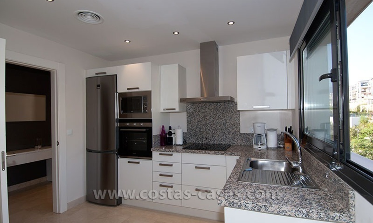 For Holiday Rent: Brand New Modern Luxury Apartment with Fabulous Sea Views, Golf Resort, between Marbella and Estepona 14