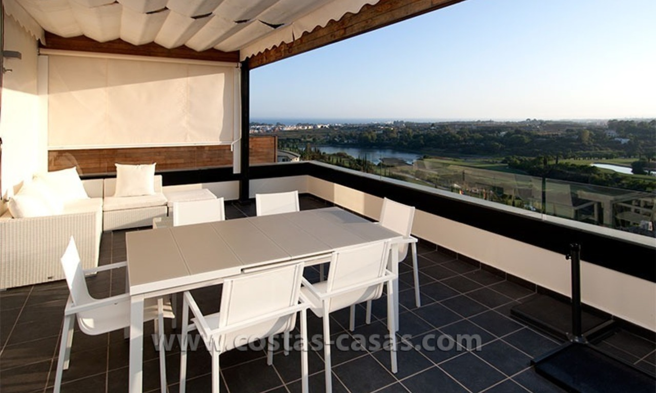 For Holiday Rent: Brand New Modern Luxury Apartment with Fabulous Sea Views, Golf Resort, between Marbella and Estepona 6