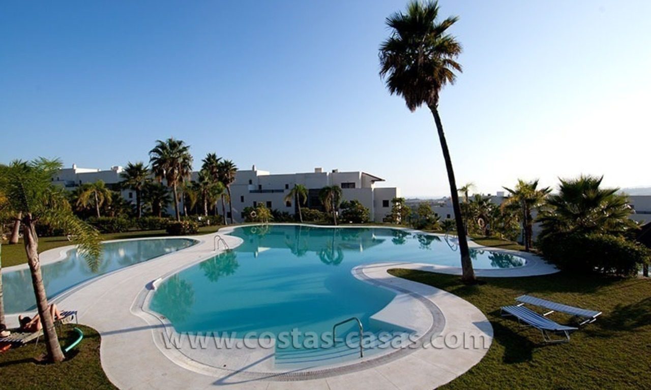 For Holiday Rent: Brand New Modern Luxury Apartment with Fabulous Sea Views, Golf Resort, between Marbella and Estepona 22