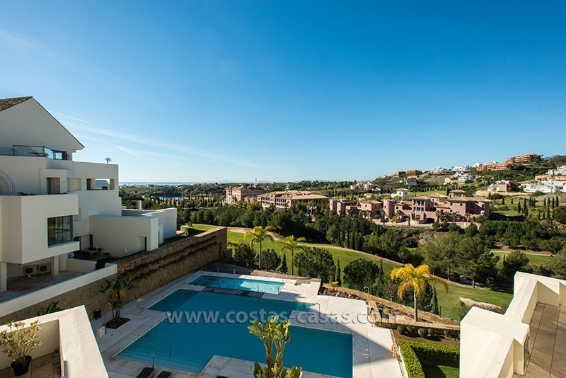 For Sale: Modern Apartment at Golf Resort in Benahavís – Marbella