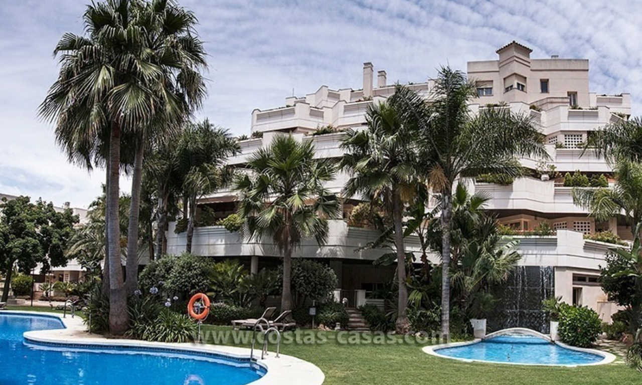 For Sale: Centrally Located Apartments in Nueva Andalucia near Puerto Banús – Marbella 0