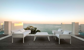 Resale: Exclusive Beachfront Modern Penthouse, New Golden Mile, Marbella – Estepona 0
