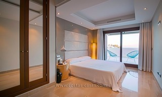 Resale: Exclusive Beachfront Modern Penthouse, New Golden Mile, Marbella – Estepona 14