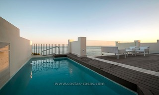 Resale: Exclusive Beachfront Modern Penthouse, New Golden Mile, Marbella – Estepona 20
