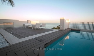 Resale: Exclusive Beachfront Modern Penthouse, New Golden Mile, Marbella – Estepona 21