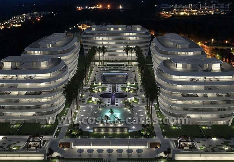 For Sale: Unique Innovative Luxury Apartments on the Golden Mile - Marbella 0