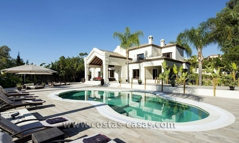 For Sale: Large and Luxury Front-Line Golf Villa in Nueva Andalucía, Marbella