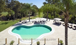 For Sale: Large and Luxury Front-Line Golf Villa in Nueva Andalucía, Marbella 2