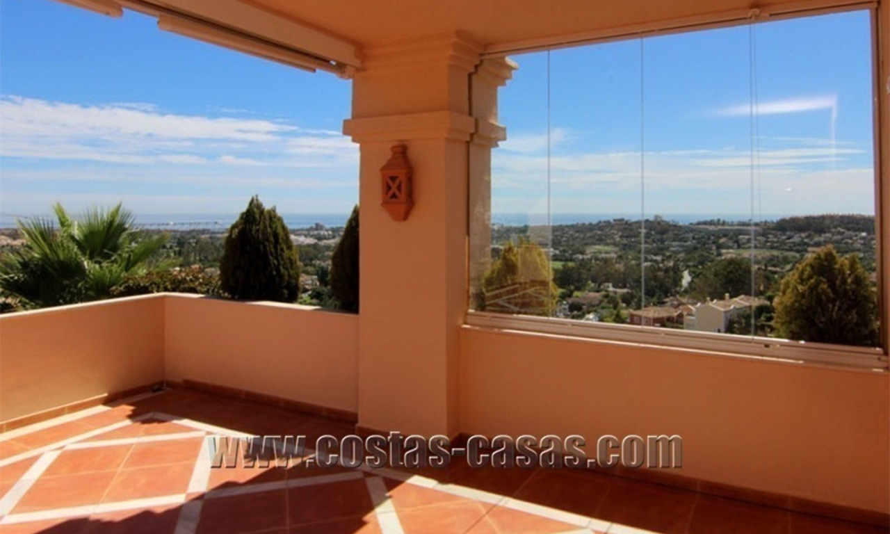 For Sale: Large Luxury Penthouse in Nueva Andalucía, Marbella's Golf Valley 0