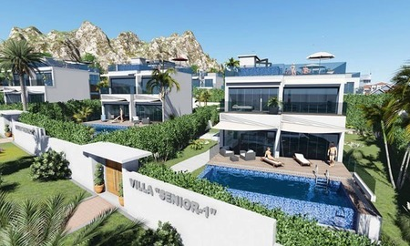 For Sale: Brand-New Luxury Villas next to Puerto Banús – Marbella