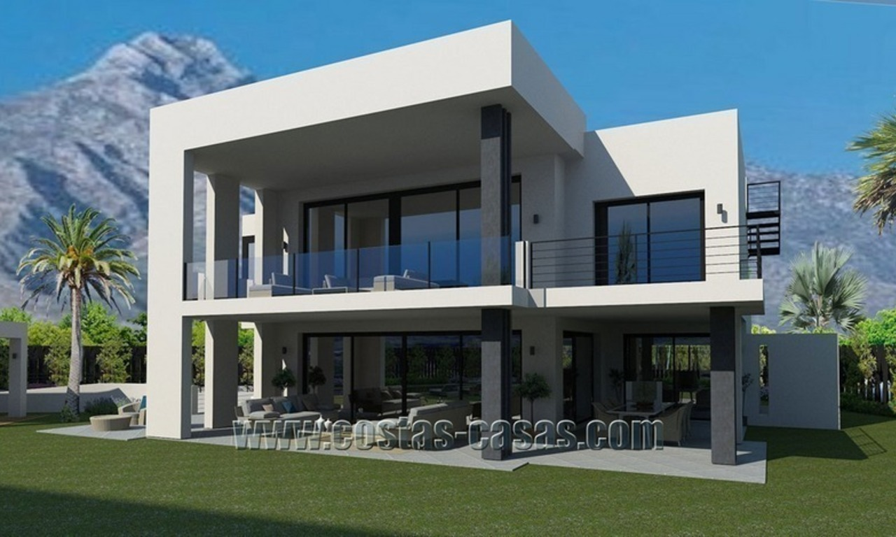 Contemporary New Villa for Sale on The Golden Mile in Marbella 2