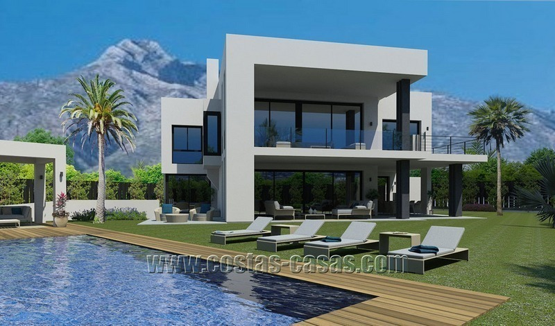 Contemporary New Villa for Sale on The Golden Mile in Marbella