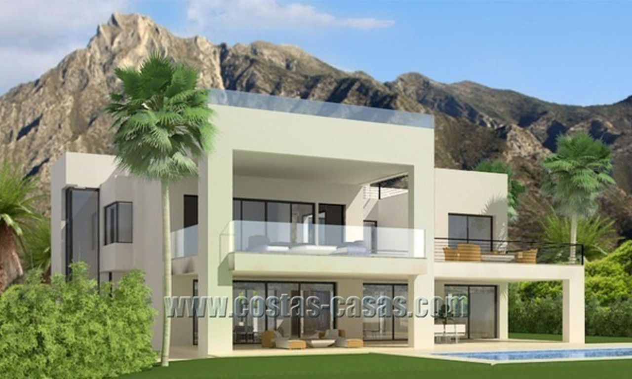For Sale: Modern Luxury Villa on The Golden Mile in Marbella 1