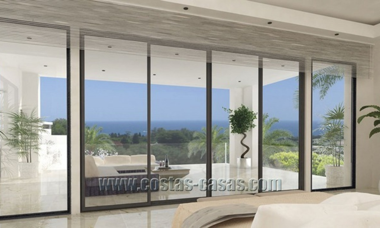 For Sale: Modern Luxury Villa on The Golden Mile in Marbella 4