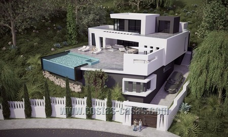 For Sale: Spacious and Stylish Newly-Built Villa in Marbella