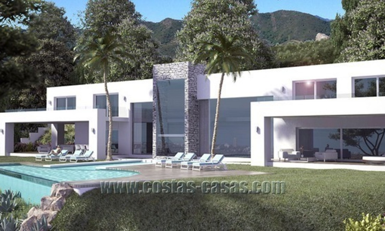 For Sale: New Modern Exclusive Villa in Marbella 1