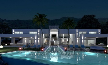 For Sale: New Modern Exclusive Villa in Marbella 0