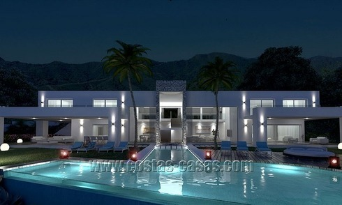 For Sale: New Modern Exclusive Villa in Marbella