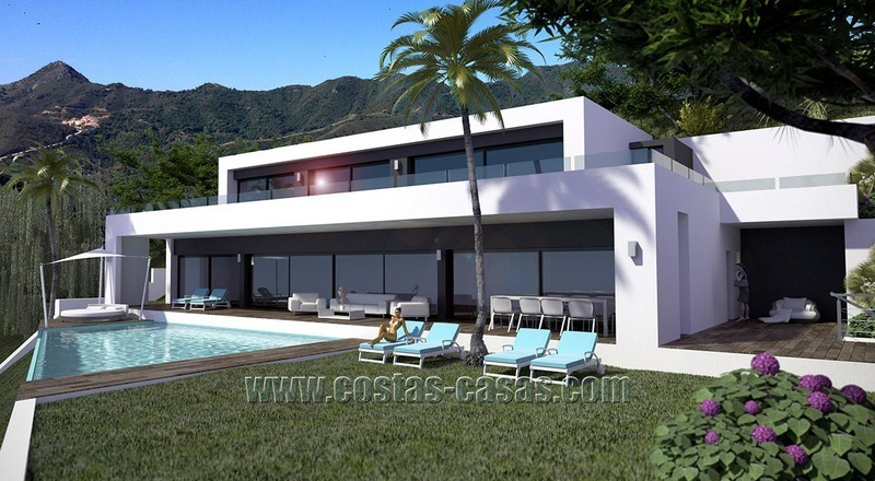 Spacious and Stylish Newly-Built Villa For Sale in Marbella