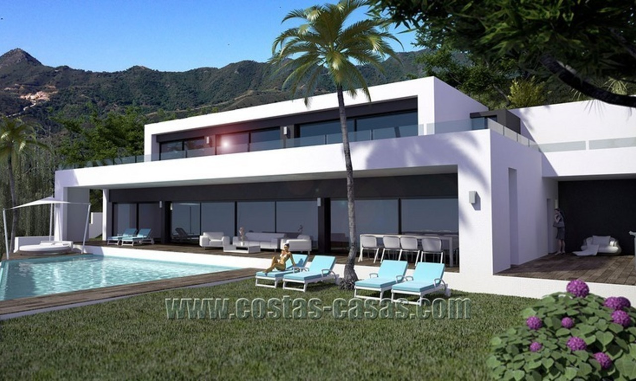 Spacious and Stylish Newly-Built Villa For Sale in Marbella 0