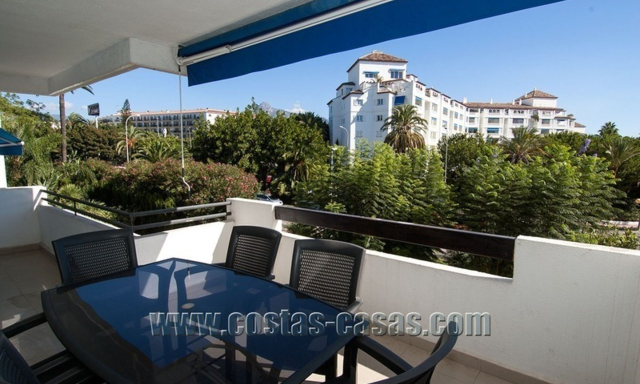 For Sale: Second-Line Beach Apartment in Puerto Banús – Marbella 1