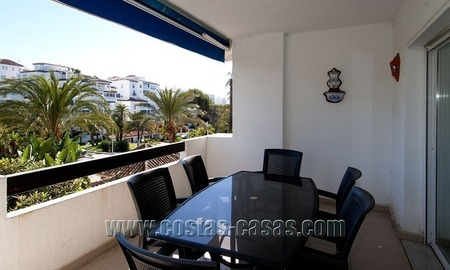 For Sale: Second-Line Beach Apartment in Puerto Banús – Marbella