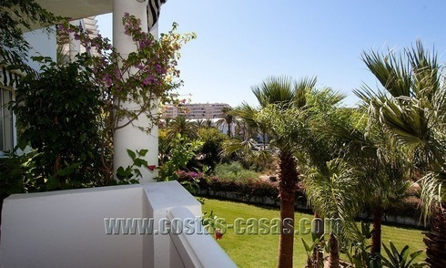 For Sale: Cosy Frontline Beach Apartment in the Heart of Puerto Banús – Marbella