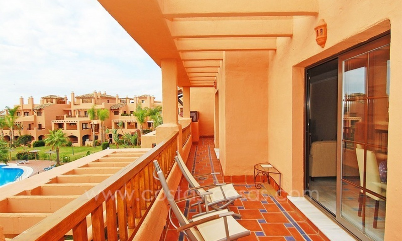 Beachside duplex penthouse for sale in Marbella - Estepona