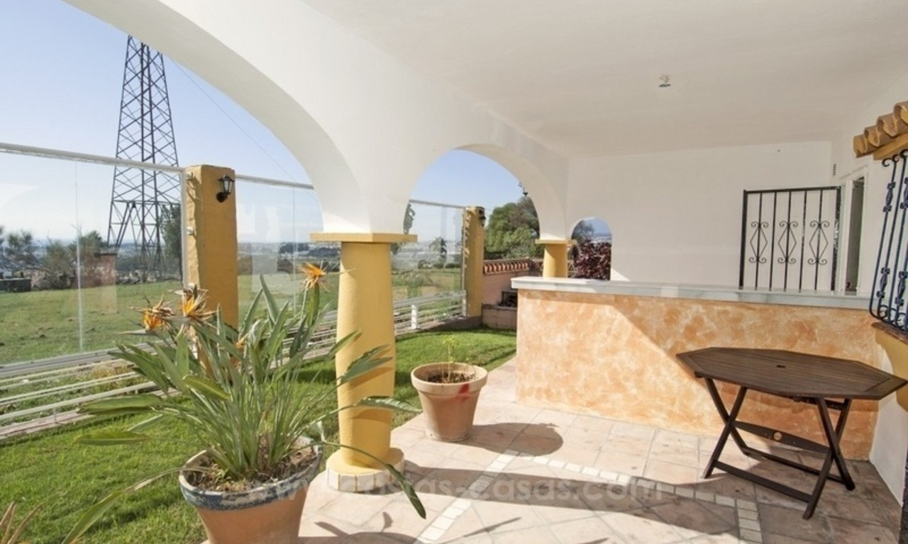 Renovation project – villa for sale in Nueva Andalucia, Marbella 11