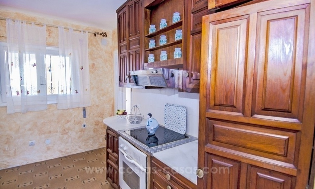 Renovation project – villa for sale in Nueva Andalucia, Marbella 14