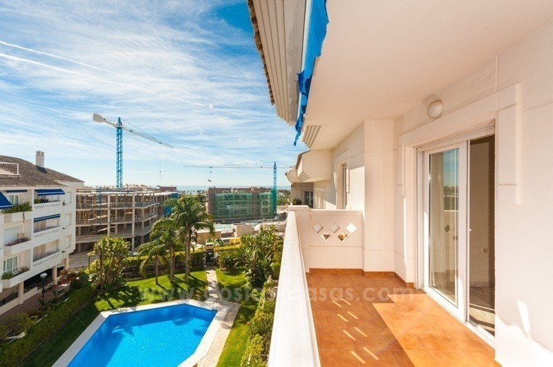 Beachside duplex penthouse for sale in San Pedro de Alcantara - Marbella