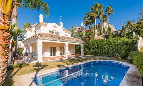 Bargain! Beautiful frontline golf villa for sale in San Pedro, Marbella 18085