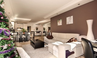 Luxury garden apartment for sale, frontline beach complex, New Golden Mile, Marbella - Estepona 2