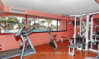 Luxury front line beach apartment for sale, first line beach complex, New Golden Mile, Marbella - Estepona 30