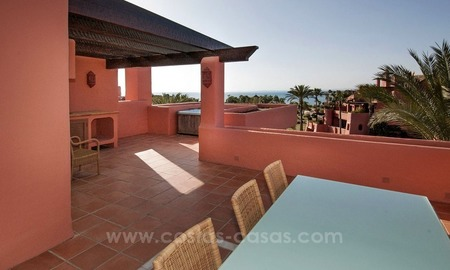 Luxury penthouse for sale, first line beach complex, New Golden Mile, Marbella - Estepona 2