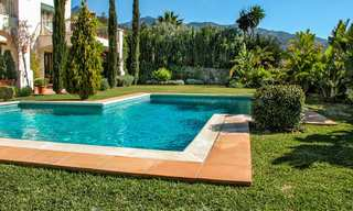 Exceptional villa with sea views for sale in Sierra Blanca, Golden Mile, Marbella 23074